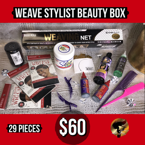 Weave Stylist Beauty Box