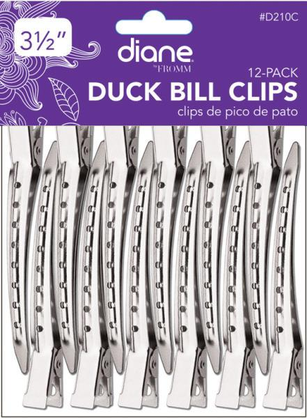 Diane Duck Bill clips 12 pc.