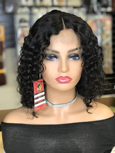 Deep Wave Bob Lace Front Wig