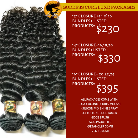 Goddess Curl Luxe Package