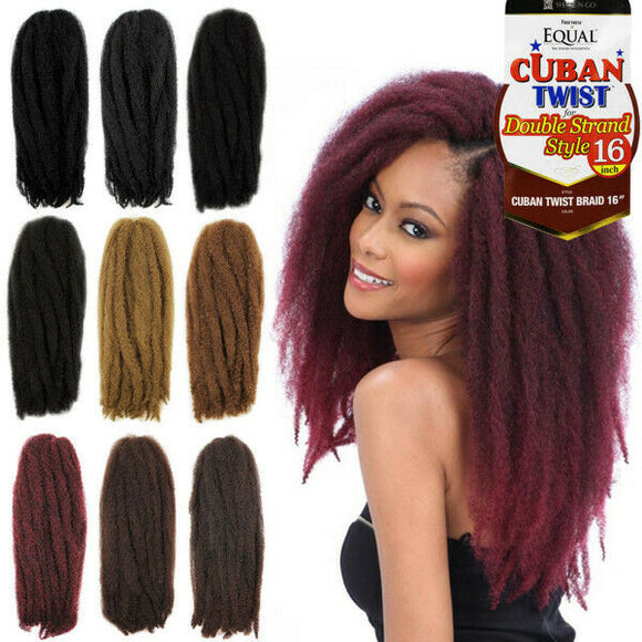 Freetress Cuban Twist Synthetic Marley Braid 16