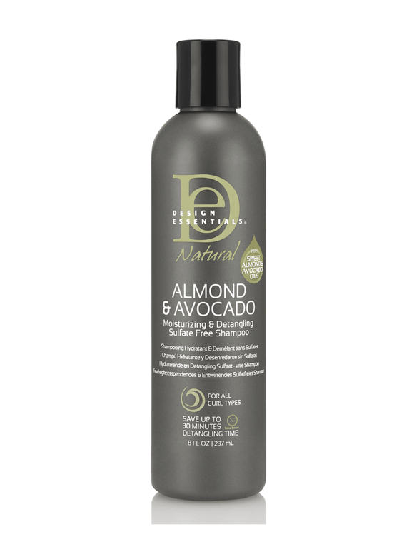 Design Essentials Natural Almond and Avocado Moisturizing Shampoo