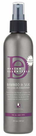 Design Essentials Bamboo & Silk HCO Leave-in Conditioner
