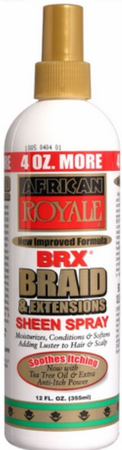 African Royale BRX Braid & Extensions Sheen Spray