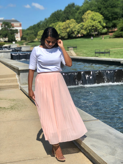 Laurel Skirt - Peach