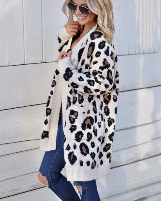 Love Leopard Cardigan