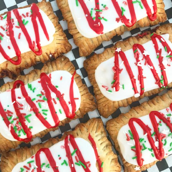 Holiday Cherry Poptart