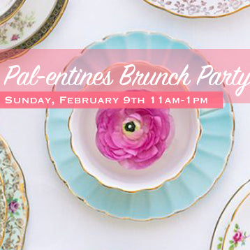 Pal-entine's Brunch Party + Cookie Decorating