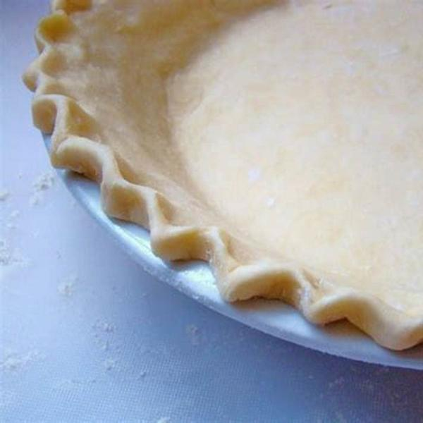 "Unbaked 9"" Pie Shell"