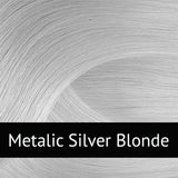 Metallic Silver Blonde