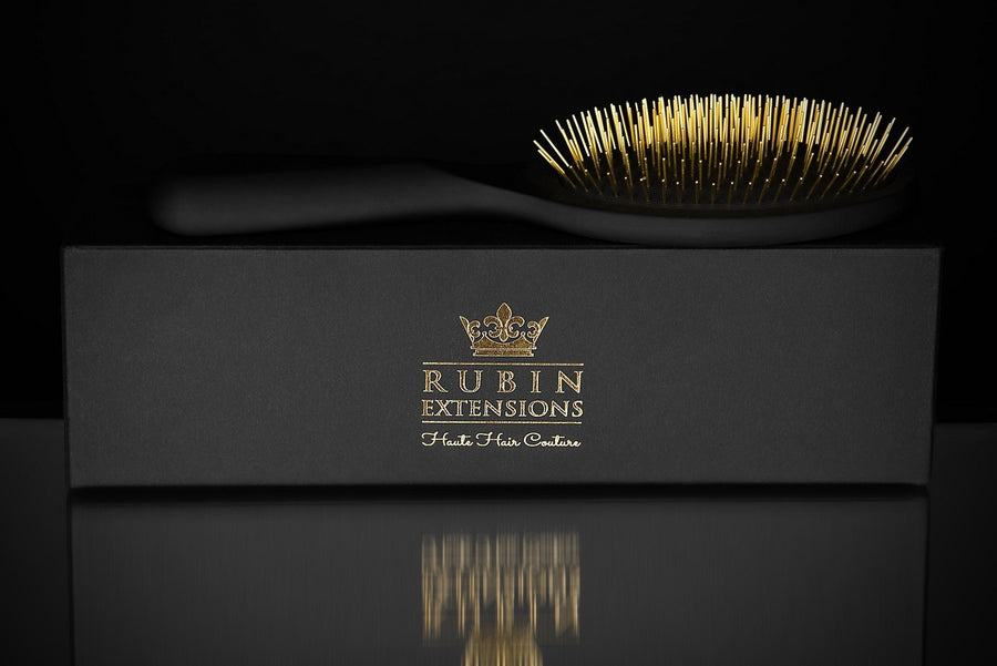 Golden Princess Hair Brush