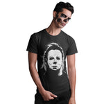 Halloween Movie Mike Myers Horror T Shirt - Purple Print House