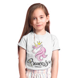 Princess Unicorn T Shirt - Purple Print House