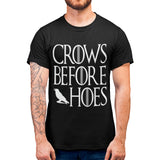 Crows Before Hoes T Shirt - Purple Print House