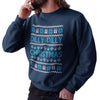 Dilly Dilly Christmas Funny Sweatshirt - Purple Print House