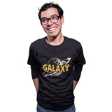Hand drawn Galaxy Universe T Shirt - Purple Print House