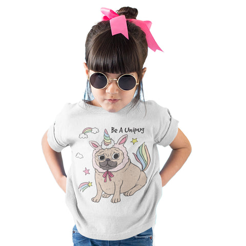 Be a Unipug Cute Unicorn T Shirt - Purple Print House