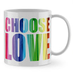 Choose Love Mug - Purple Print House