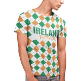Ireland Forever St Patricks Day T Shirt - Purple Print House