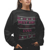 Best Kiki Ever Christmas Sweatshirt - Purple Print House