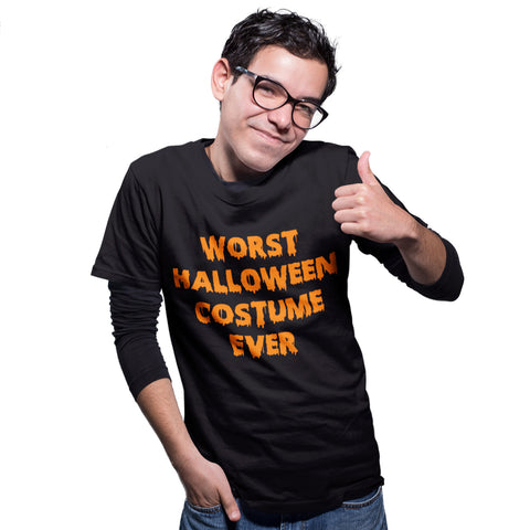 Worst Halloween costume ever Funny T Shirt - Purple Print House