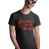 Zombie Kill or be Killed T Shirt - Purple Print House