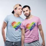 Pride Love is Love T Shirt - Purple Print House