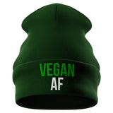 Vegan AF Beanie Hat - Purple Print House