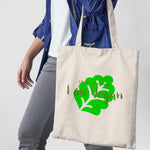 I think therefore i am Vegan Shopper Tote Bag - Purple Print House