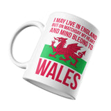 Heart and Mind Belong to Wales Mug - Purple Print House