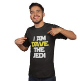 Dave the Jedi T Shirt - Purple Print House
