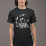 Modern Astronaut T Shirt - Purple Print House
