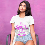 Can't Keep Calm im Getting Married Wedding T Shirt - Purple Print House