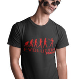 Evolution of Zombie Funny T Shirt - Purple Print House
