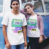 Mixtape Made in the 90s T Shirt - Purple Print House
