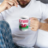 Wales Grand Slam 2019 White Mug - Purple Print House