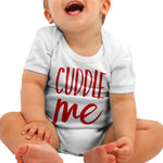 Cuddle Me Cute Baby grow - Purple Print House