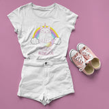 Freaking Magical Unicorn T Shirt - Purple Print House