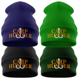 Carp Hunter Fishing Beanie Hat - Purple Print House