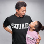 Family Squad T Shirt - Purple Print House