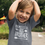 Promoted to Big Brother T Shirt - Purple Print House