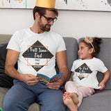 Full Time Mum / Dad Part Time Teacher T Shirt - Purple Print House