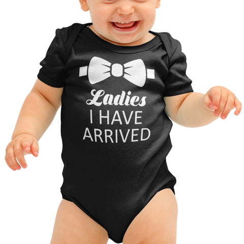 Ladies I have arrived Funny Baby grow - Purple Print House
