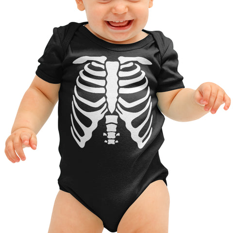 Halloween Skeleton Baby grow - Purple Print House