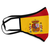 Spain Face Mask Covering