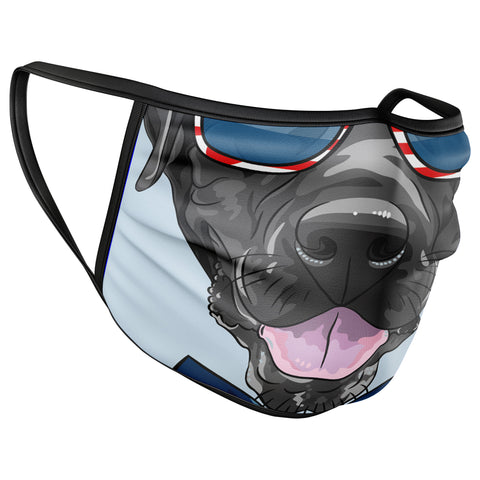 Dog Face Funny Face Mask Covering