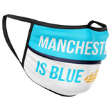 Manchester is Blue Face Mask Covering