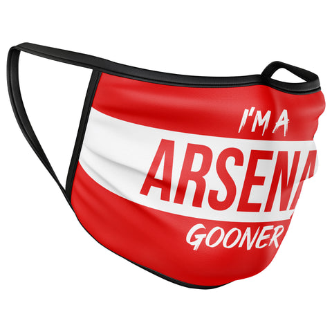 Arsenal Football Face Mask Covering
