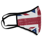 Union Jack Great Britain Face Mask Covering