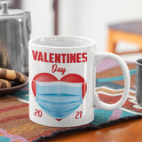 Valentines Day Stay Home Mug